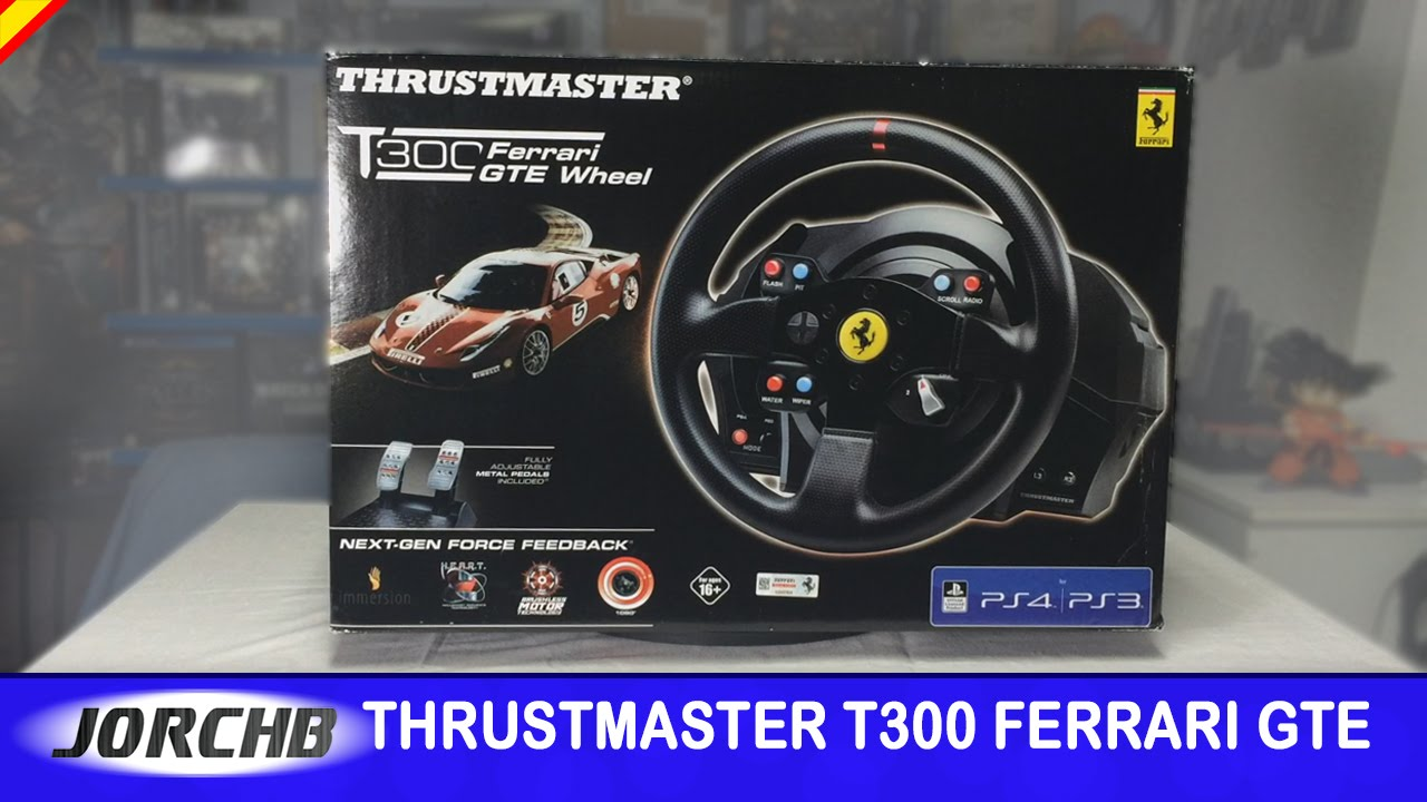 unboxing thrustmaster t300 ferrari gte wheel youtube. Black Bedroom Furniture Sets. Home Design Ideas