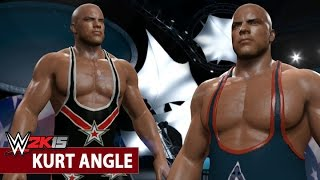 WWE 2K15 Community Showcase: Kurt Angle (Xbox One)