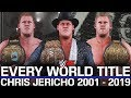 WWE 2K: Every World Title Chris Jericho Has Won in WWE & AEW (2001 - 2019)