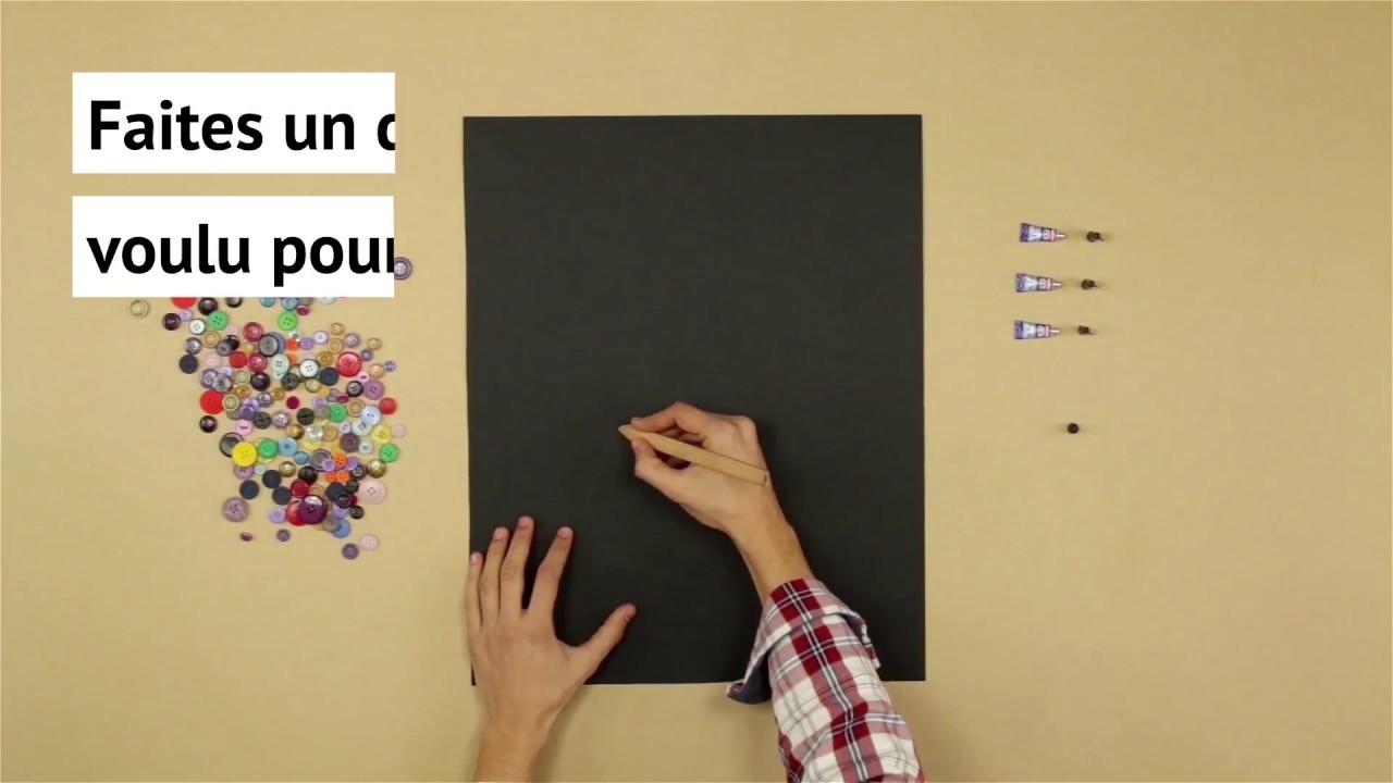 R aliser un tableau en boutons youtube for Realiser un tableau