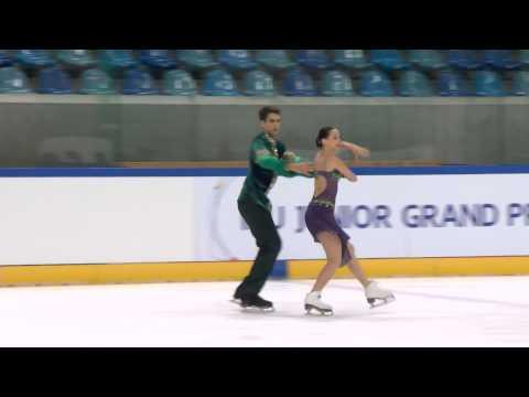 ISU 2014 Jr Grand Prix Dresden Free Dance Betina POPOVA / Yuri VLASENKO RUS