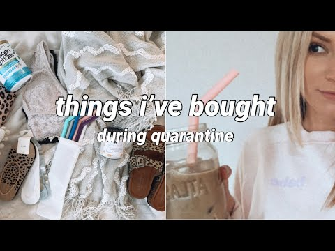 Things I've Bought During Quarantine | Amazon, American Eagle, Aerie, Thegirlgang.ca Haul April 2020