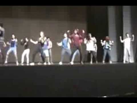 Variety dance by Education crew