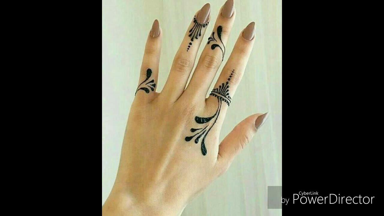 نقش حناء روعة على الاصابع. die schönsten Henna tattoo ideen