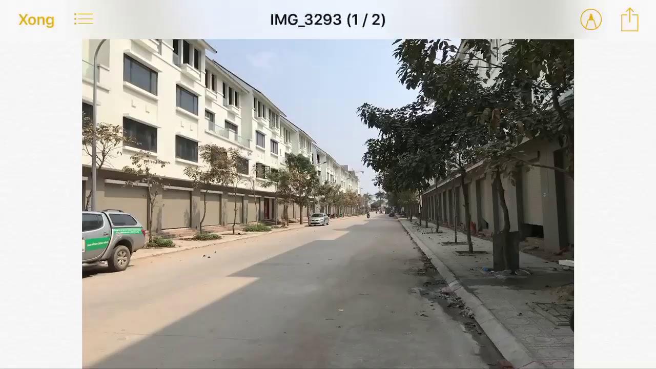 Review bất động sản – Liền kề 100m2 trục chính khu B Geleximco Lê Trọng Tấn siêu đẹp