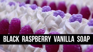 Black Raspberry Vanilla Soap | Royalty Soaps