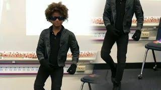 Mtoto Wa 'MANGE KIMAMBI' Afata Nyayo Za Michael Jackson,Siyo Kwa Midance hiyo