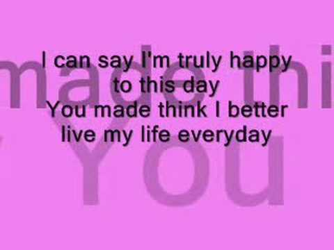 Baby i LOVE you -  by  - 1st Lady ( lyrics )