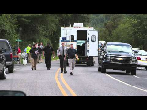 911 Calls from officer involved shooting, Waynesville, NC