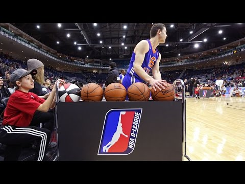 Jimmer Fredette Gets Hot at 2016 NBA D-League Three-Point Contest