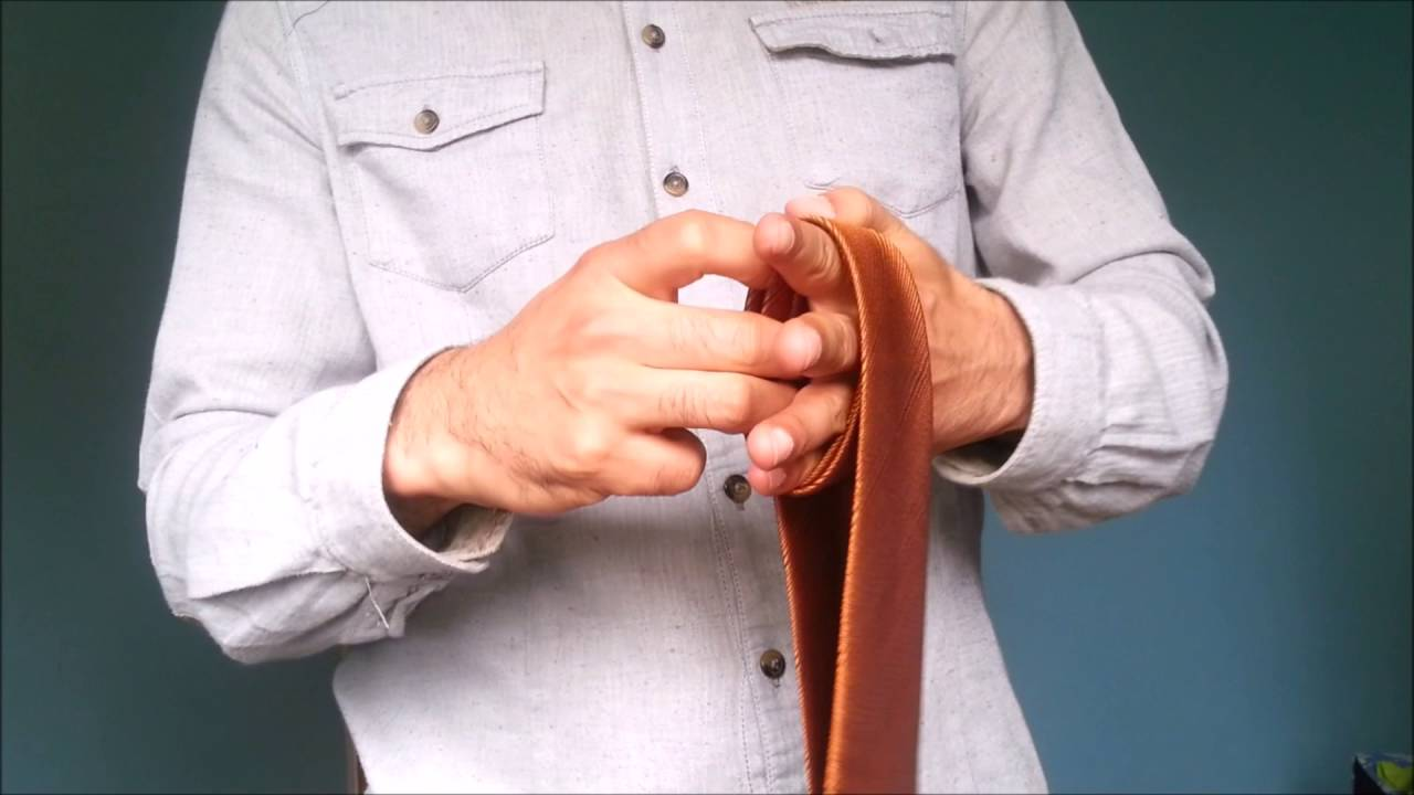 How to tie a tie in under 10 seconds quick and easy youtube ccuart Image collections