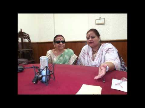 Interview of Prof. Indulata Sukla on All India Radio (AIR), Cuttack