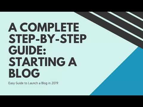 Step by Step Guide Starting a Blogging