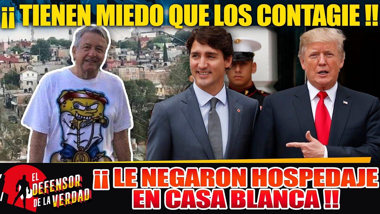 Trumpotas y Trudeau Creen Q AMLO Los Contagiará!!Lo Mandan a Dormir a Embajada!!Le Exigen Prueba!!
