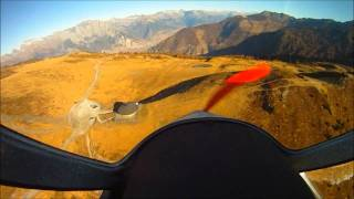 Mountain flying in the French Alps - Vol montagne dans les Alpes