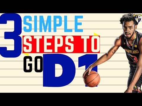 Simple Steps To D1 Basketball