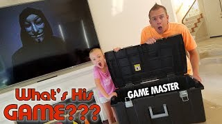 Breaking Open the Game Master Top Secret Mystery Box!!!