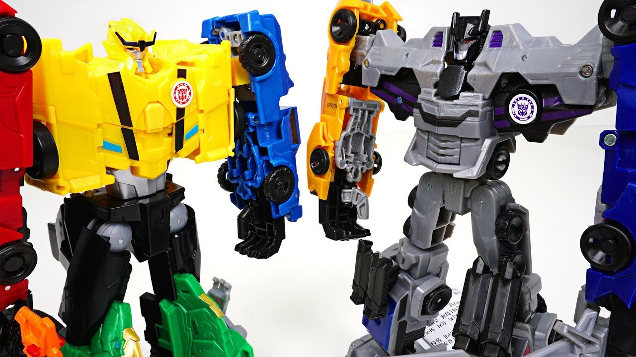 Combiner Force Disguise Ultra Transformers Robots Bee