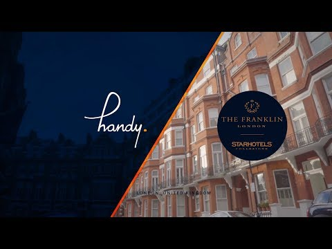 handy Hotel Interview: The Franklin London  —  Starhotels Collezione