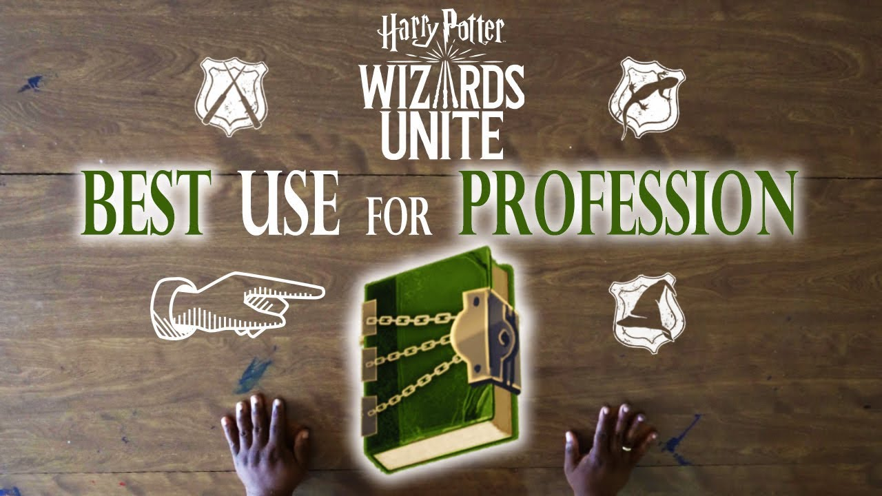 Best use of RESTRICTED BOOKS for your Profession in WIZARDS UNITE