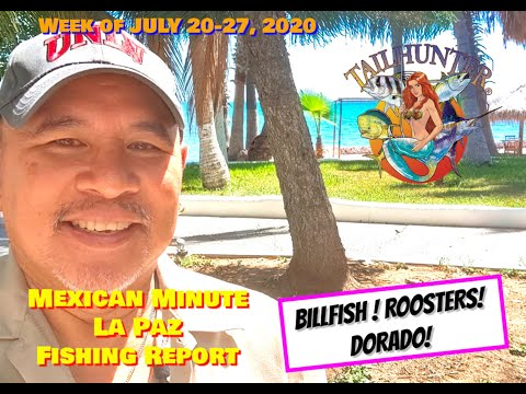 MEXICAN MINUTE LA PAZ FISHING REPORT From Tailhunter Sportfishing For Week Of July 20-27, 2020