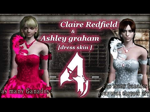 Ashley Graham & Claire Redfield Mod resident evil 4 [dress cosplay]