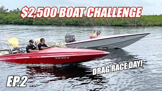 homepage tile video photo for $2,500 Boat Challenge Ep.2 - DRAG RACE DAY + High Speed Maneuver Competition!!!