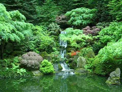 Portland Japanese Gardens, Washington Park, Portland, Oregon - YouTube