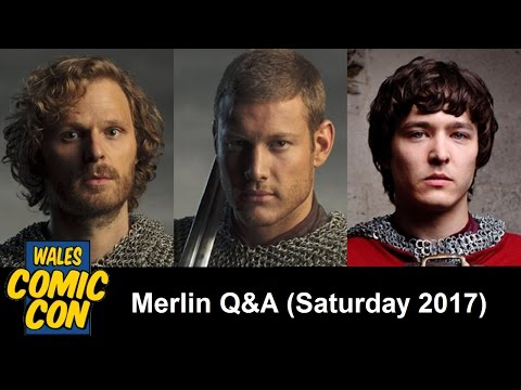 WCC 2017 - Merlin Panel with Rupert Young, Tom Hopper & Alexander Vlahos [Saturday]