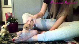 socks off and play- webcam feet