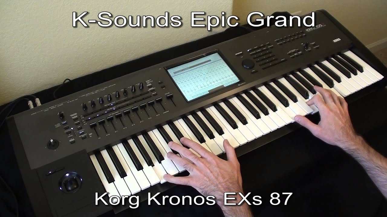 KRONOS Sound Library Lineup / Shop English Japanese