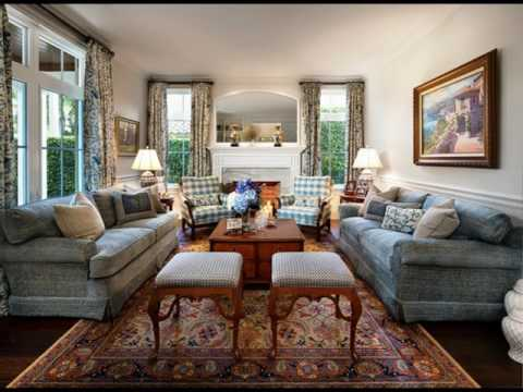 Colonial Style Living Room ideas - YouTube