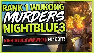Download #1 WUKONG WORLD MURDERS NIGHTBLUE3 (IN CHALLENGER) - League of Legends Mp3 and Videos