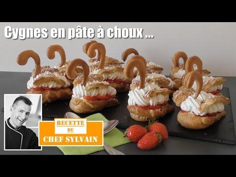 Cygnes en pâte a choux - Recette par Chef Sylvain