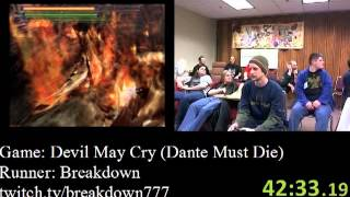 Devil May Cry - SPEED RUN (Dante Must Die) in 1:38:19 by Breakdown - AGDQ 2012 - PS2 Gameplay