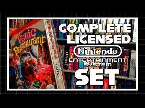 My Complete Licensed NES Set