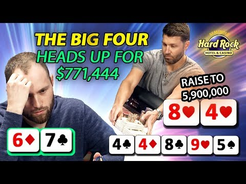 SICK Hands At The FINAL TABLE | THE BIG FOUR [Part 2]