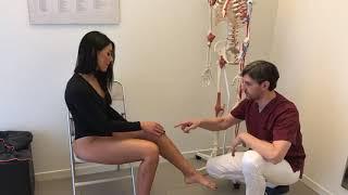 OSTEOPATIA  Dolore al ginocchio (knee pain) Dott. Davide Pozzobon