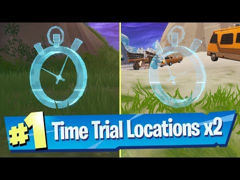 Complete A Time Trial East Of Pleasant Park Or South West Of Salty Springs (Location) - Fortnite