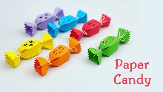 How To Make Easy Mini Paper Candy / Paper craft / Paper Crafts For School / Craft Ideas With Paper