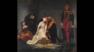 """l'Execution de Lady Jane grey en la tour de Londres  by Paul Delaroche"" - National Gallery - London"