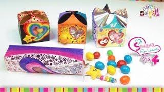 (Day 4) DIY Personalized Valentine's Day gift box / (Día 4) Cajitas de regalo para San Valentín Thumbnail