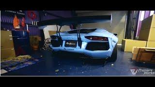 Liberty Walk X Fi Exhaust, 2015 Tokyo Auto Salon - Ready to go!