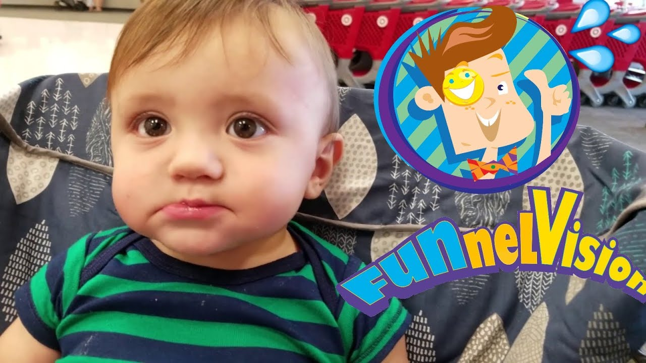 SHAWNs 1st Two Teeth Baby Vlog (FUNnel Vision Random Stuff ...