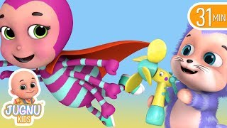 nursery rhymes incy wincy spider with lyrics | Babies songs | Jugnu Kids Nursery Rhymes & Kids Songs