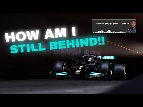 HAMILTON COMPLAINING AFTER LOSING MULTIPLE POSITIONS DURING HIS PIT STOP | 2021 Monaco GP TEAM RADIO