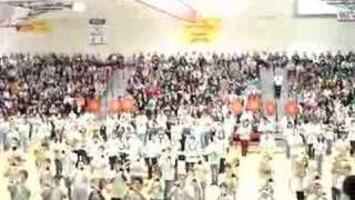 Schaumburg High School Band Playing Fight Song at Ass'y