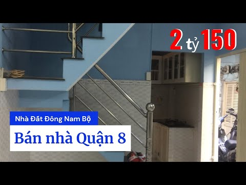 Bán nhà hẻm 769 Phạm Thế Hiển P4 Quận 8 giá 2 tỷ 150, sau lưng Bệnh viện Quận 8
