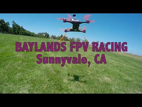 FPV Racing at Baylands in Sunnyvale, CA
