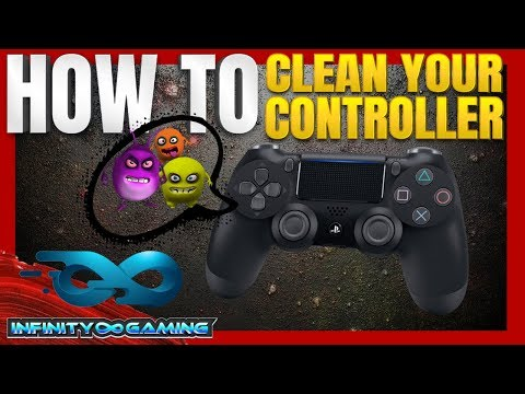 How To... Clean your PS4 Controller & Destroy Germs